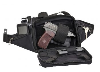 fanny pack with pistol