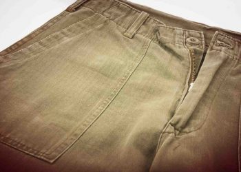 soldier military pant detail and texture
