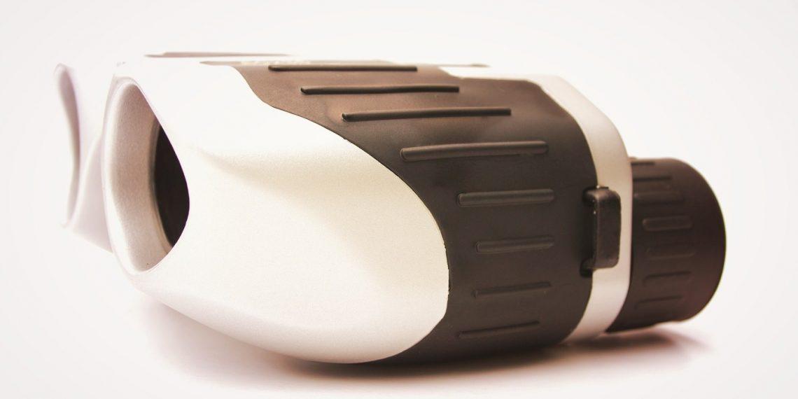 a modern compact binocular