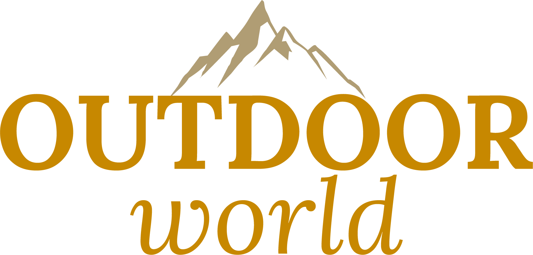 Outdoor world logo