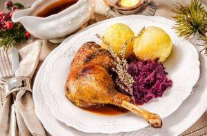 Roast Goose leg