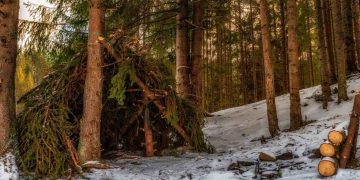 How To Build An Emergency Winter Shelter- outdoors world reviews